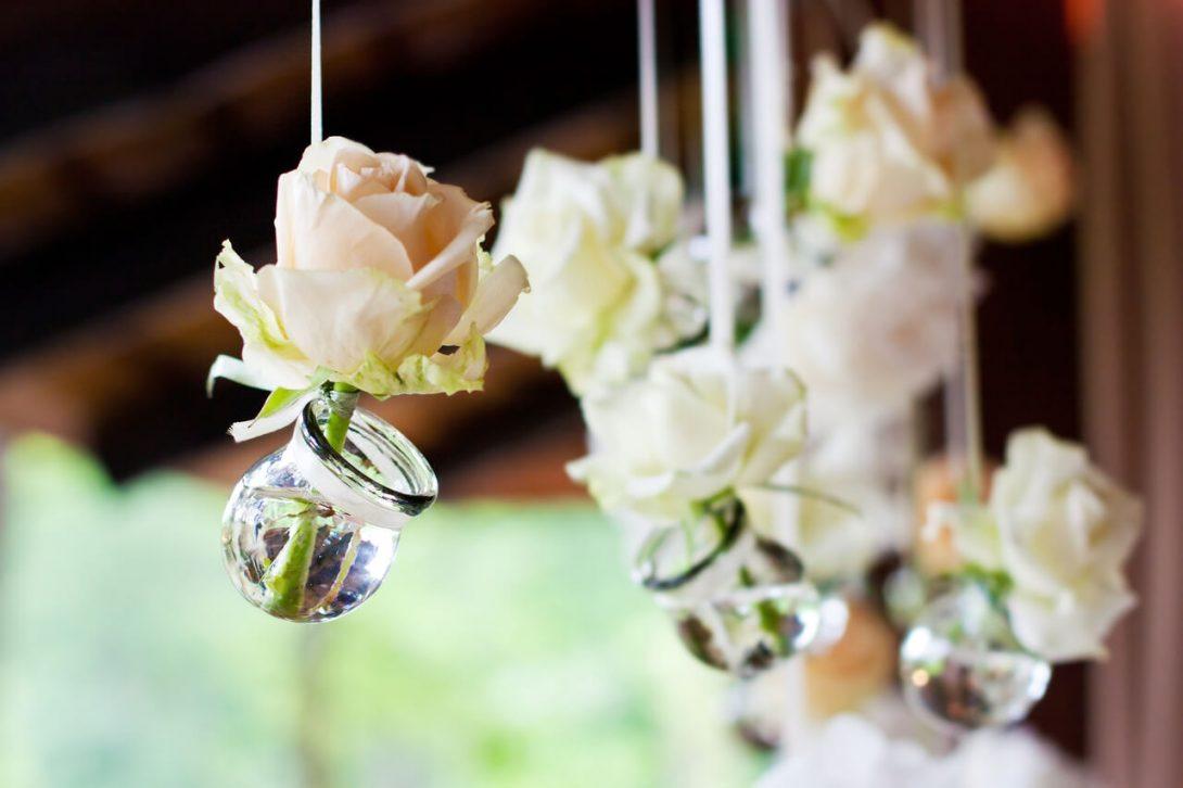 ozdoby z kwiatów po weselu