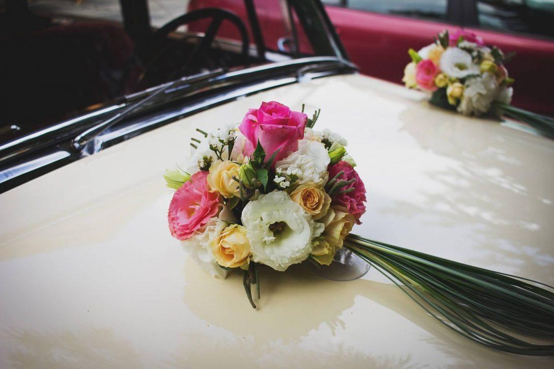 jak ozdobić samochód na wesele