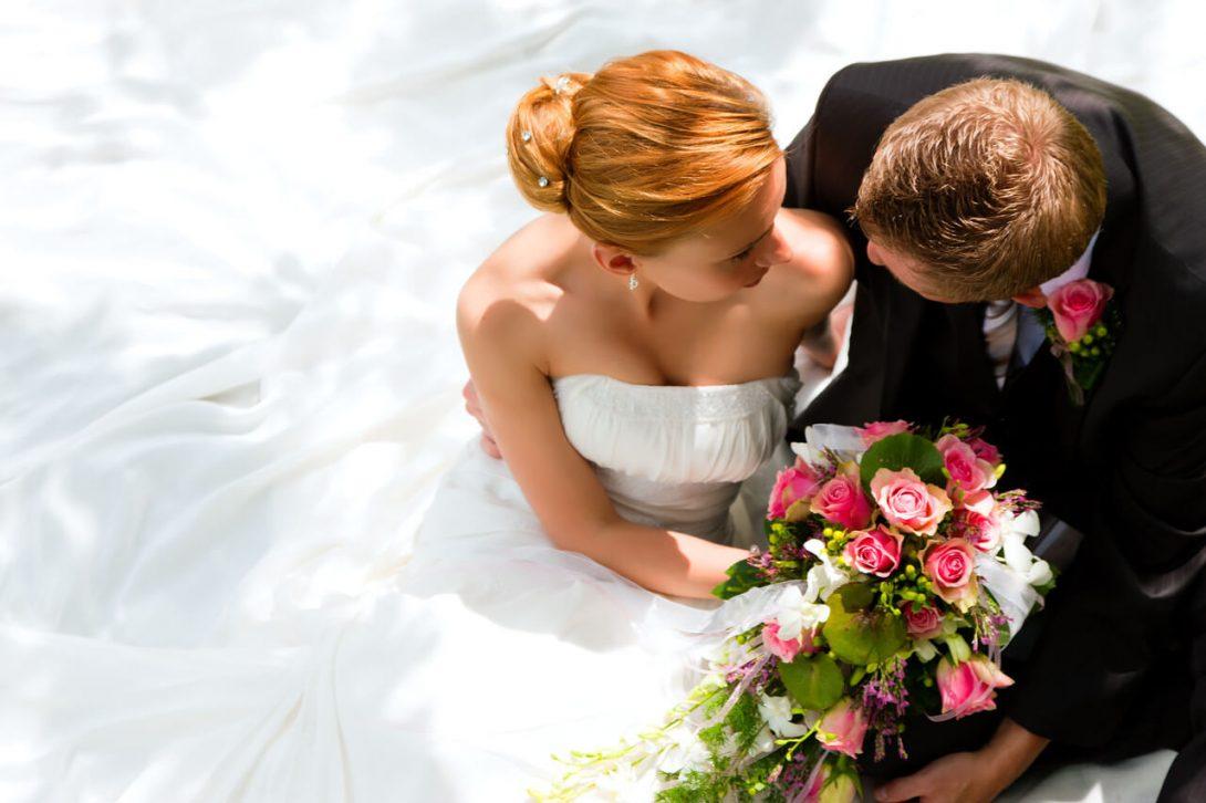 kreacja na ślub jesienią