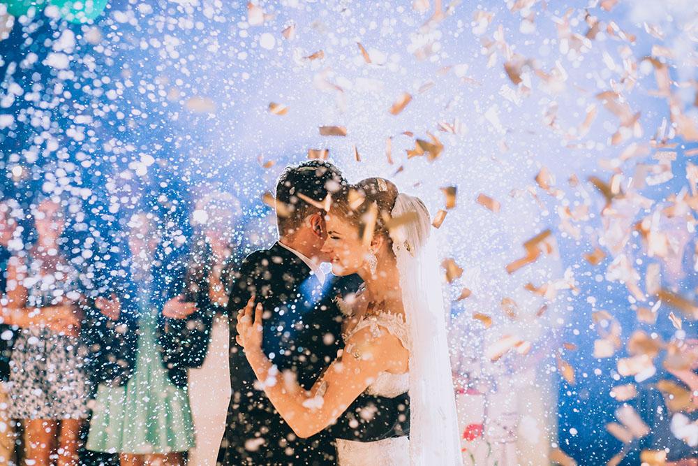 konfetti na pierwszy taniec