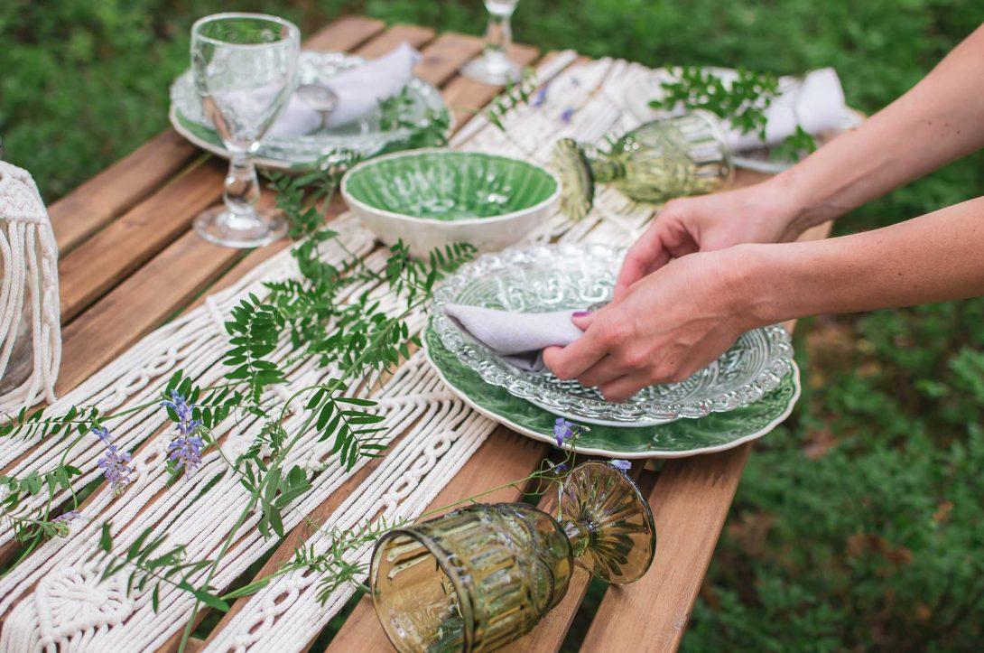 wesele ekologiczne dekoracje